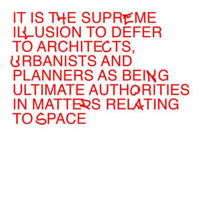 Edge — A Super–Architectural Typeface